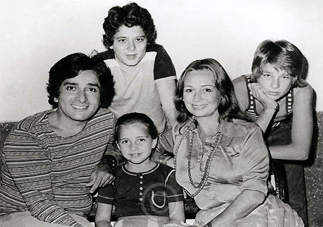 Shashi kapoor Family