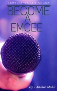 Become A emcee Anchoring Book